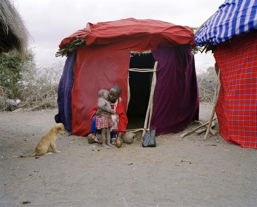 Baron Eckhardt Safaris (Masai boma), Tanzania 2008