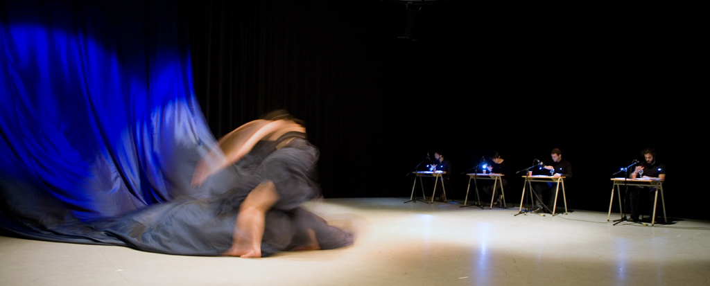 Composition Kaveh Vares (dancer Louisa Field) 2012